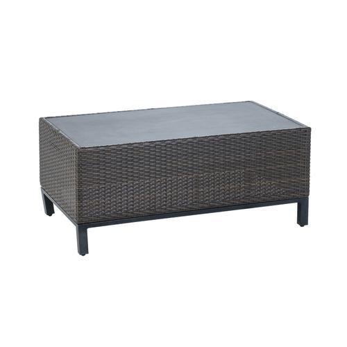 "Franklin 42""X24"" Rectangular Coffee table w/GRC top"