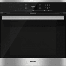 H 6560 BP AM - 24 Inch Convection Oven with AirClean catalyzer and Roast probe for precise cooking.