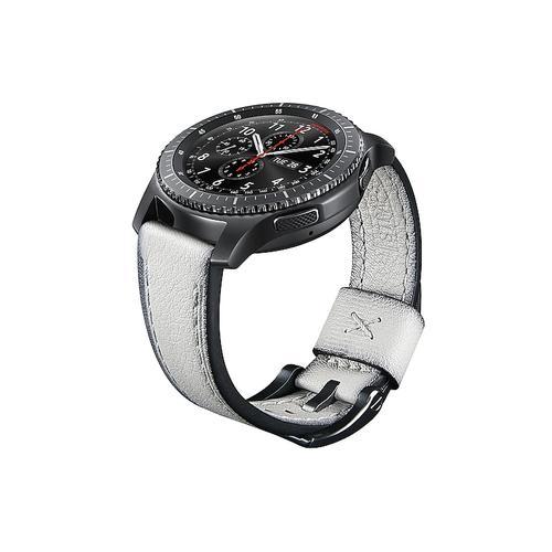 Samsung - Leather Strap Seta (22mm) Grey