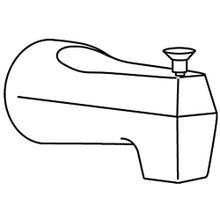 See Details - Moen Brushed chrome diverter spouts