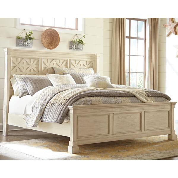 See Details - Queen Panel Bed With 2 Nightstands
