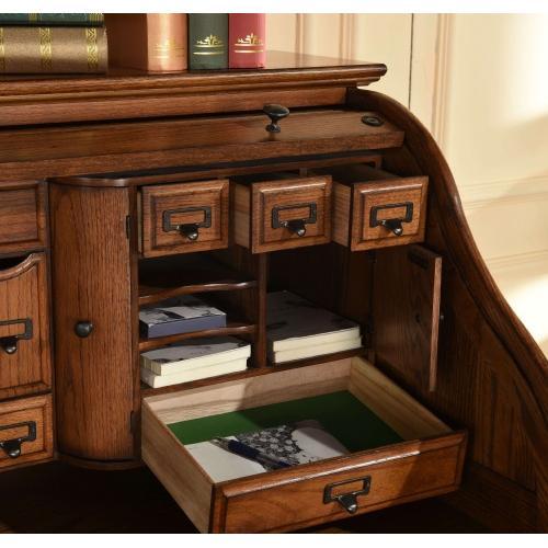 "Tennessee Enterprises - 54"" Deluxe Roll Top Desk"