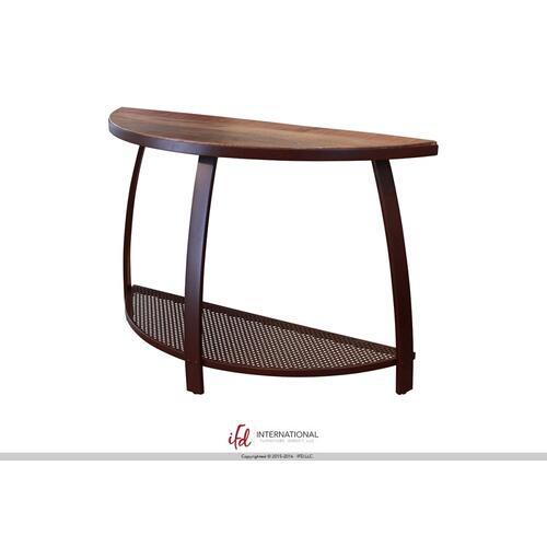 Cocktail Table w/1 Iron Shelf