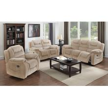 Aspen Reclining Living Room Set (3 Piece)