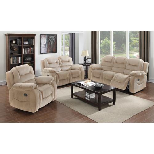 Aspen Reclining Living Room Set (3 Piece)