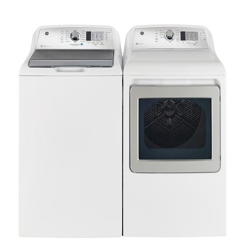 GE Appliances Canada - GE 5.2 Cu. Ft. Top Load Washer with SaniFresh Cycle White - GTW685BMRWS