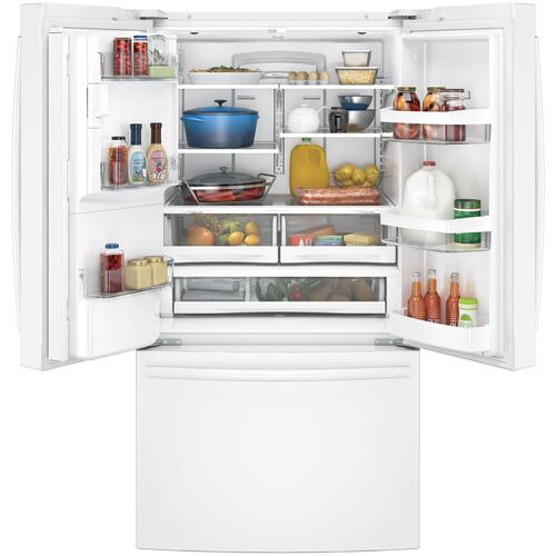 GE Appliances - GE® ENERGY STAR® 27.8 Cu. Ft. French-Door Refrigerator