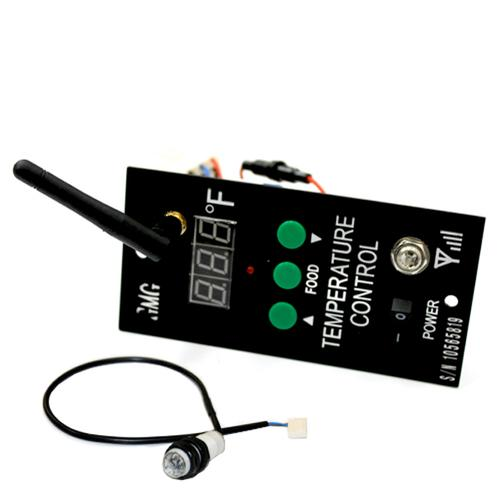 Wifi Retrofit Kit w/ Low Pellet Alarm & Meat Probe - JB Choice