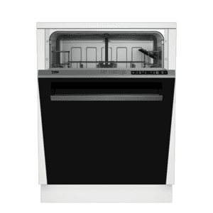BekoTall Tub Black Dishwasher, 14 place settings, 48 dBA, Top Control