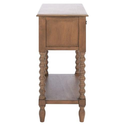 Safavieh - Athena 3 Drawer Console Table - Brown