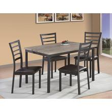 7808 5PC Metal Dining Room SET