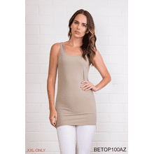 Body Esteem Solid Color Tank - XXL (3 pc. ppk.)