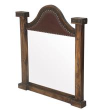 Laguna Leather Dresser Mirror