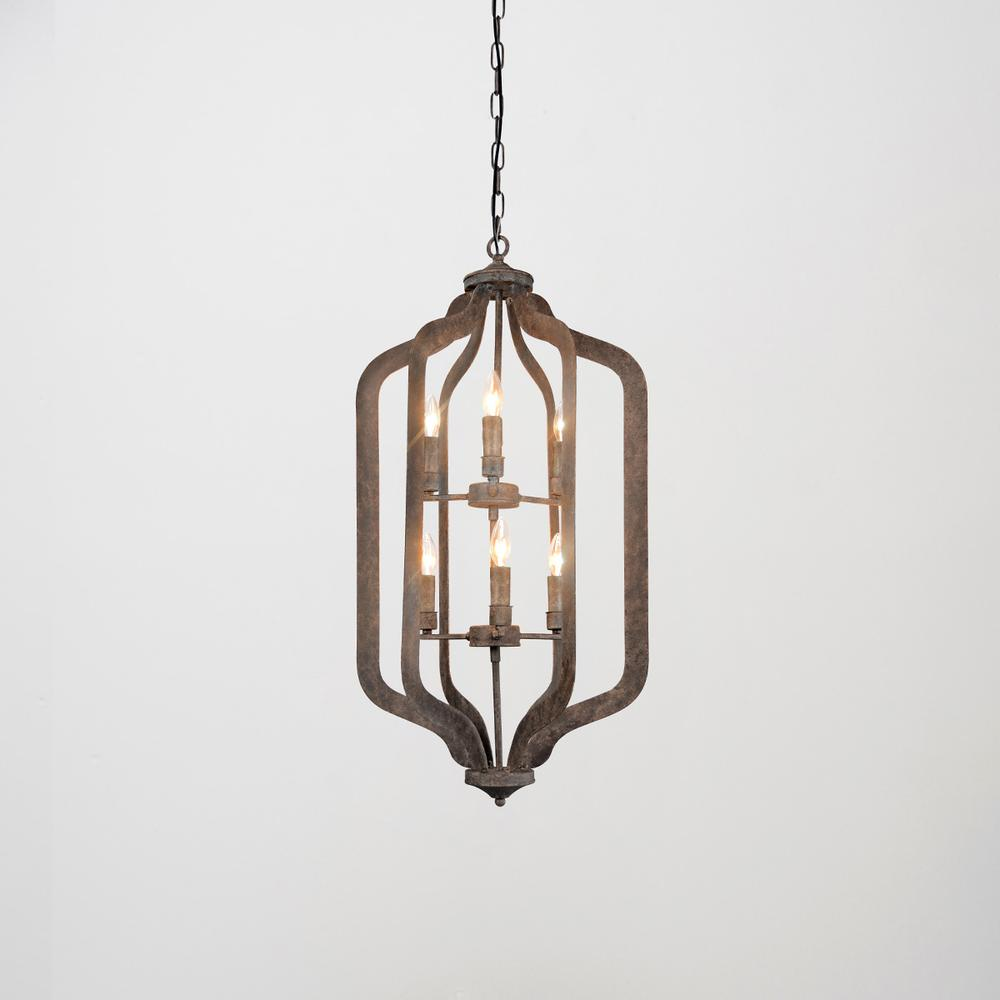 See Details - Ellie Chandelier Tall w/Bulb