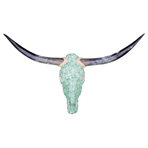 Aqua Jeweled Head