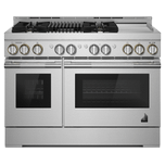 Jenn-AirJenn-Air RISE 48&quot Gas Professional-Style Range with Chrome-Infused Griddle and Grill