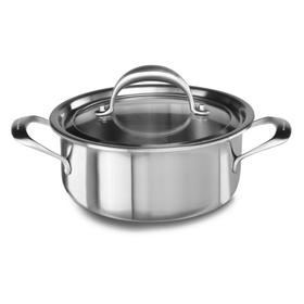 1.5 QT SAUCEPOT WITH LID - Stainless Steel Finish