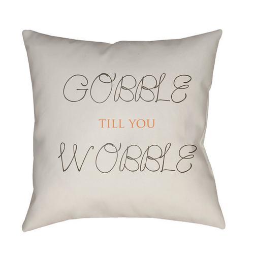 "Gobble Till You Wobble GOBBLE-004 18"" x 18"""