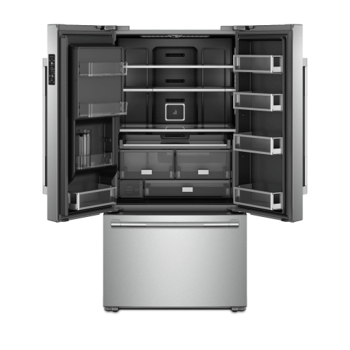 """RISE™ 72"""" Counter-Depth French Door Refrigerator with Obsidian Interior"""