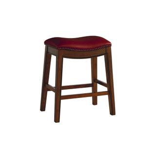 """See Details - Fiesta 24"""" Backless Counter Height Stool in Red"""