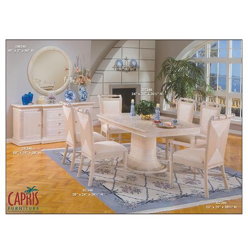 Capris Furniture - 346 dining