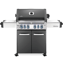 Prestige 500 RSIB with Infrared Side and Rear Burners , Grey , Natural Gas