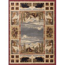 See Details - Nature - NTR6700 Red Rug