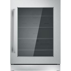 ThermadorFreedom® Glass Door Refrigeration 24'' Professional Stainless steel T24UR910RS