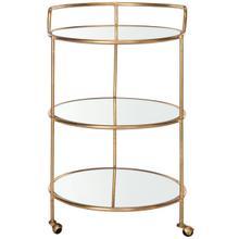 See Details - Dulcinea Bar Cart - Gold