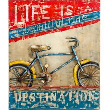 Modrest Beautiful Ride Modern Bike Painting