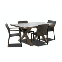 "Crossroads 60"" X 42"" Rect Dining Table"