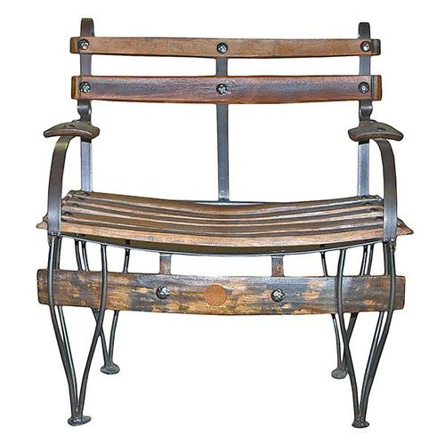 Tequilero Wood/Iron Bench DISCONTINUED