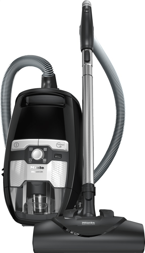 MieleBlizzard Cx1 Lightning Powerline - Skce0 - Bagless Canister Vacuum Cleaners With Electrobrush For Thorough Cleaning Of Heavy-Duty Carpeting.
