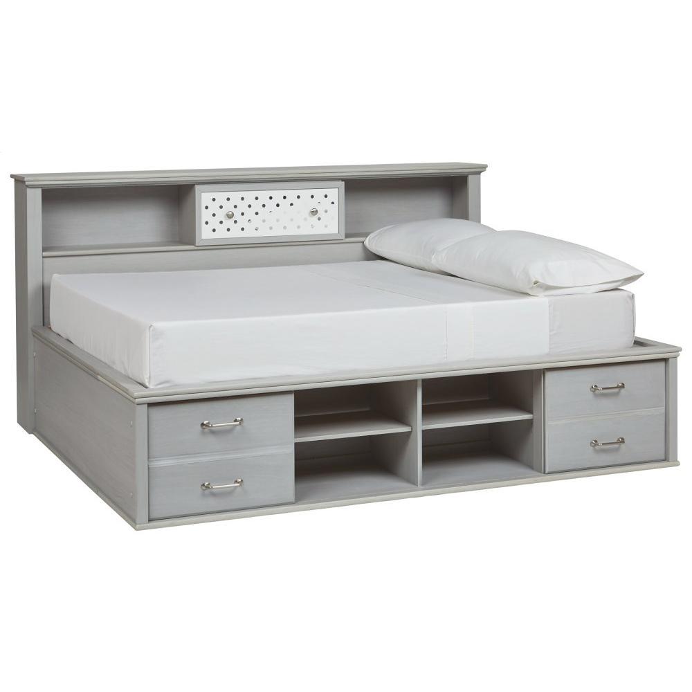 Arcella Full Bookcase Bed