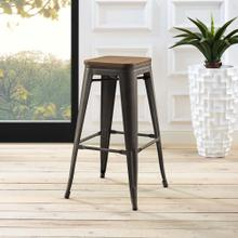 Promenade Bar Stool in Brown
