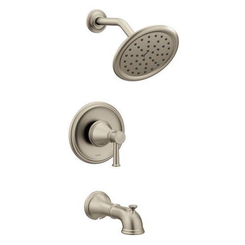 Belfield brushed nickel posi-temp® tub/shower