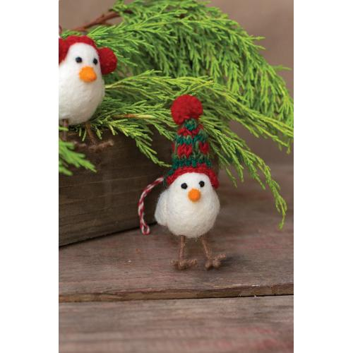 "2.25""x 1.75""x 4.25"" Pippy Ornament (Beanie Option)"