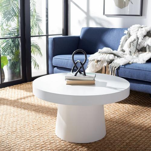 Safavieh - Jaria Paper Mache Coffee Table - White