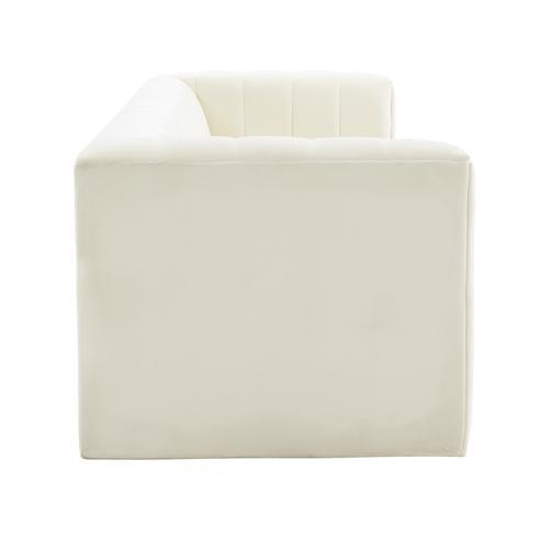 Tov Furniture - Norah Cream Velvet Sofa