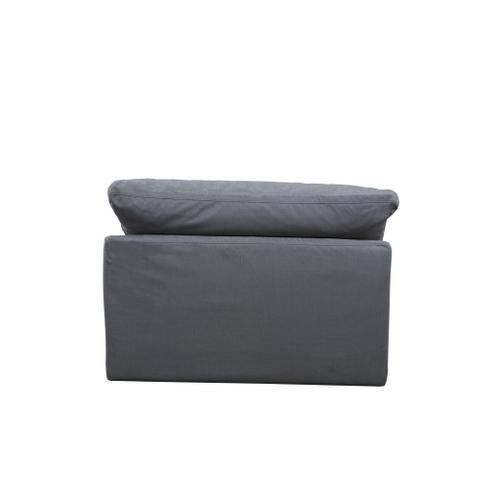 Cloud Puff Slipcovered Armless Sofa Sectional Modular Chair - 391094