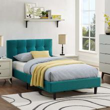 Linnea Twin Bed in Teal