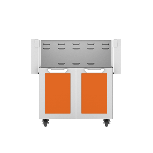 """Hestan - 30"""" Hestan Outdoor Tower Cart with Double Doors - GCD Series - Citra"""