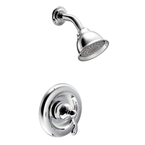 Traditional chrome posi-temp® shower only