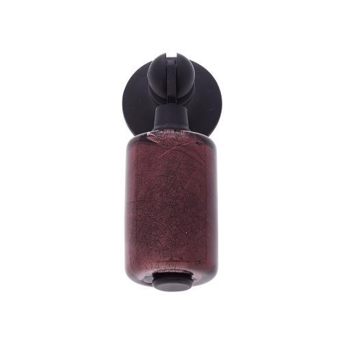 Oil Rubbed Bronze 30 mm Purple Pendant Pull