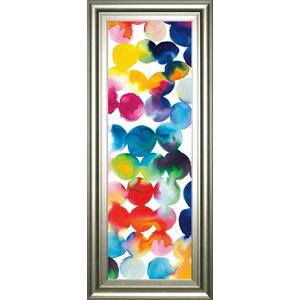 """Bright Circles III"" By Wild Apple Portfolio Framed Print Wall Art"