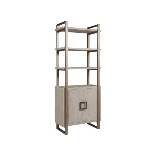 Bianco Vertex Bookcase