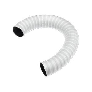 MieleFlexible hose LW 100mm - Vent ducting For venting tumble dryers.