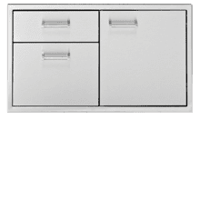 "36"" Wide Door & Two (2) Drawer Combo"