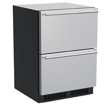 View Product - 24-In Built-In Refrigerated Drawers with Door Style - Stainless Steel