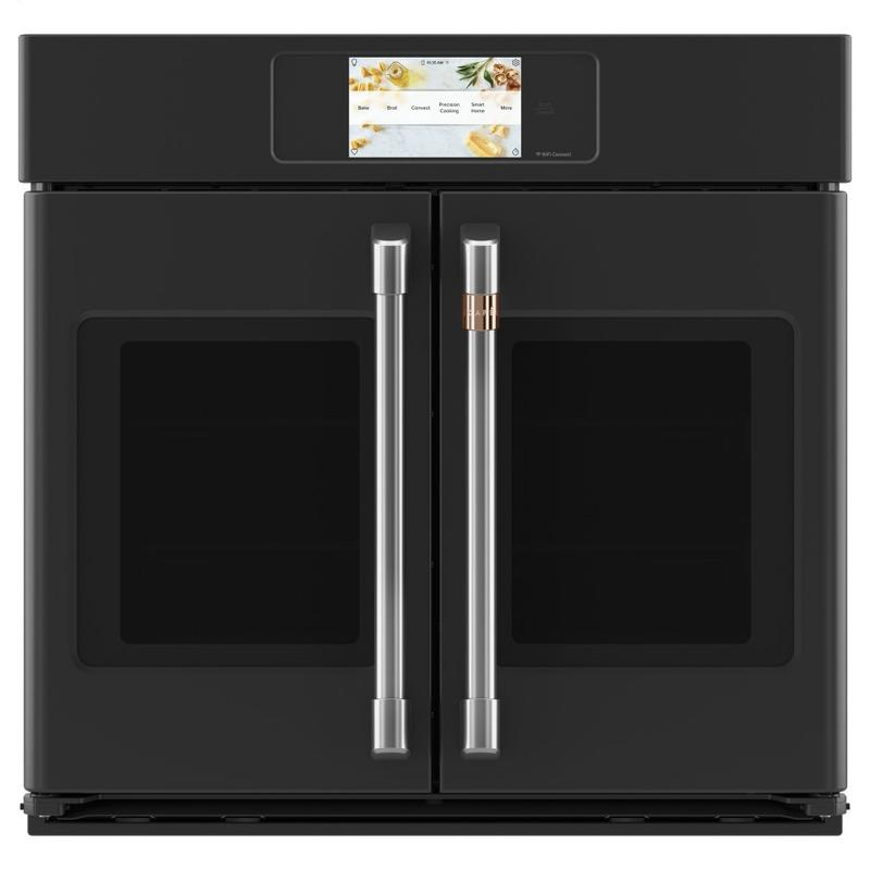 """Café Professional Series 30"""" Smart Built-In Convection French-Door Single Wall Oven"""